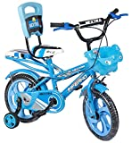 SPEED BIRD 14-T Robust Double Seat infarno Kid Bicycle for Boy and Girl