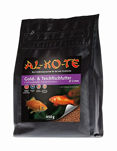 AL-KO-TE Gold- & Teichfisch 450 g - Tüte