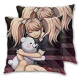 Lucky Stylemarket Mo-No-Ku-Ma Anime Pillow Case Square Decorative Sofa Car Pillow Cover