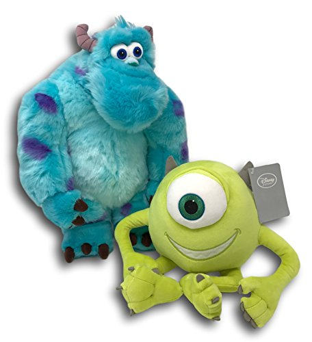 Disney Store Mike Wazowski and Sulley Plush Exclusive Bundle Monster's Inc