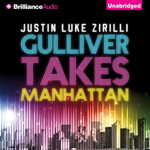 Gulliver Takes Manhattan audiobook cover art