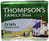 Thompson's Punjana Irish Breakfast 80 teabags (8.82oz) x 1 pack [並行輸入品]