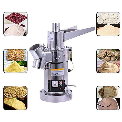 Fayelong 自動ハンマーグラインダーミル商業電気ステンレス穀物グラインダーミル超微粉粉砕機漢方薬ハーブ塩コーヒー大豆スパイス