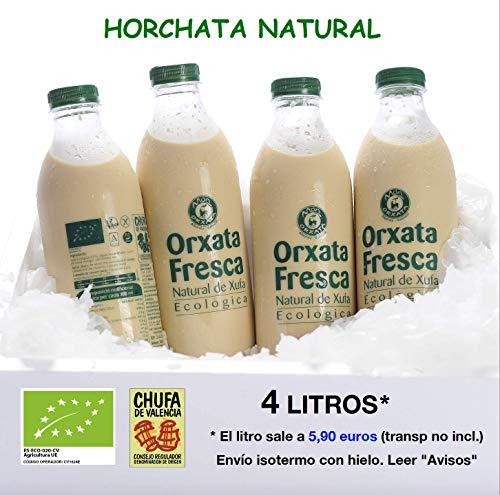 4 L. Horchata Natural Ecológica Món Orxata