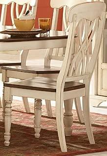 Homelegance Ohana Side Chair - Set of 2 (Antique White)