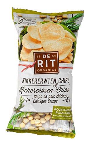 De Rit Kichererbsen-Chips mit Rosmarin (75 g)