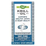 Nature's Way EfaGold Krill Oil - 30 Softgels - Purity Tested - Bioavailable EFAs Super Antioxidant - For Cardiovascular and joint Health Plus PMS Relief