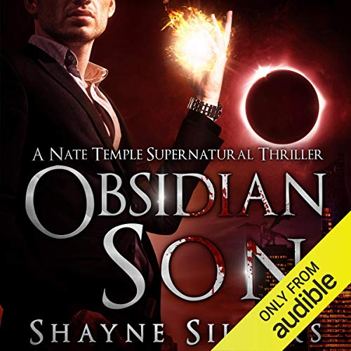 Obsidian Son audiobook cover art