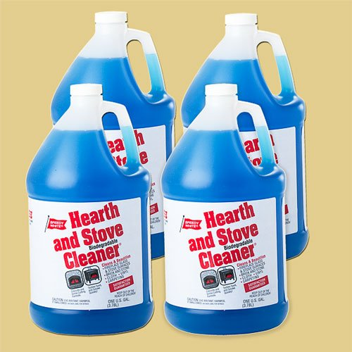 SPEEDY WHITE, INC. 78150 Speedy White Hearth And Stove Cleaner-1 Gallon Container, Case Of 4