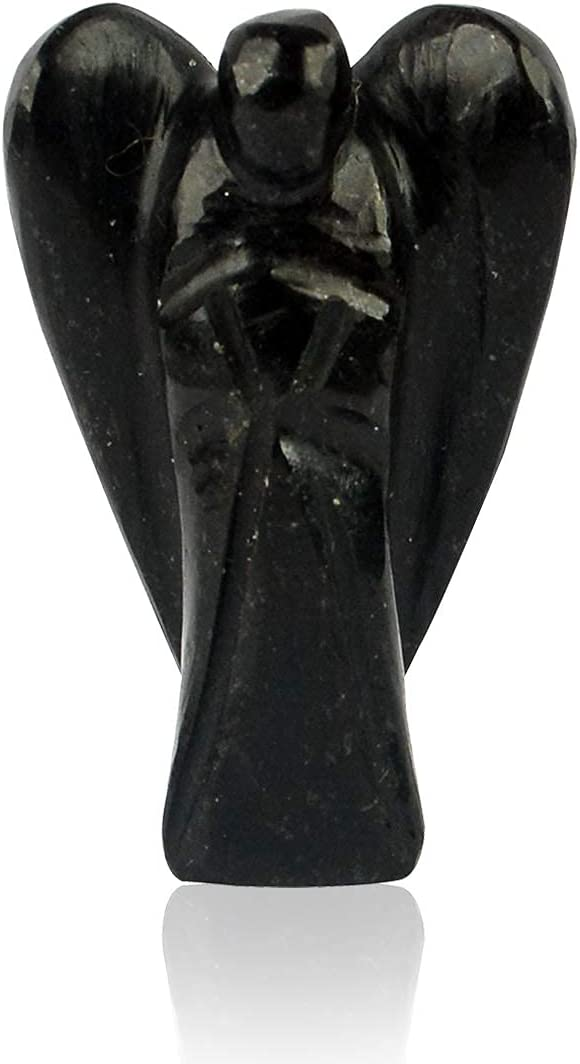 STYLE OK Products Natural Stone Stand Figurine Angel Tourmaline Lowest Tucson Mall price challenge