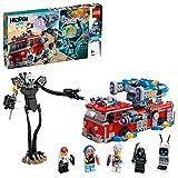LEGO- CamióndeBomberosFantasma3000 Hidden Side Set de Juego de Realidad Aumentada Multijugador Interactiva, Aplicación AR para iPhone/Android, Multicolor (70436)