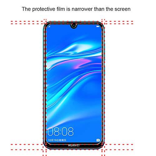 Widamin 2Pack, Panzerglas Compatible Con Huawei Y7 2019, Displayschutzfolie, Hohe Auflösung Glas,[9H Härte], [Crystal Clearity], [Kratzfest], [No-Bubble] für Huawei Y7 2019 - 2