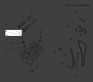 Polaris 2011-2013 Rzr Xp 900 Rzr 570 Intl Shim Valve Lash 2 775 3022173-278 New Oem