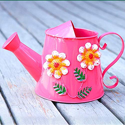 Zuoao Watering can, watering can, watering can, used for bonsai potted plants, used for plants and bonsai, potted flowers, flowers, bonsai gardening supplies,Pink