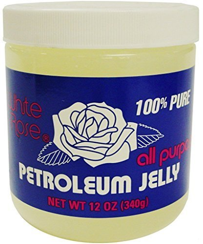 White Rose Petroleum Jelly 12 oz. (Pack of 2) by White Rose