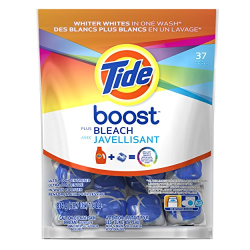 Tide Boost Stain Release Plus Bleach 37 Count (Package may very)