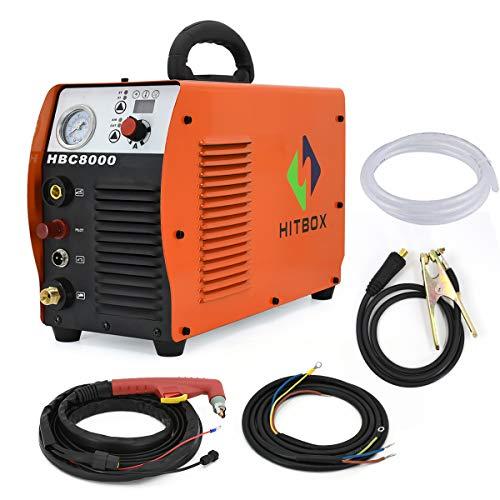 Cortador de plasma 40A 220V Electric DC Inverter Air Plasma Cutting Machine CUT40 Cortador de metal HITBOX