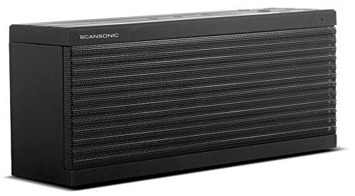 Scansonic BT200 Tragbarer Lautsprecher, Schwarz