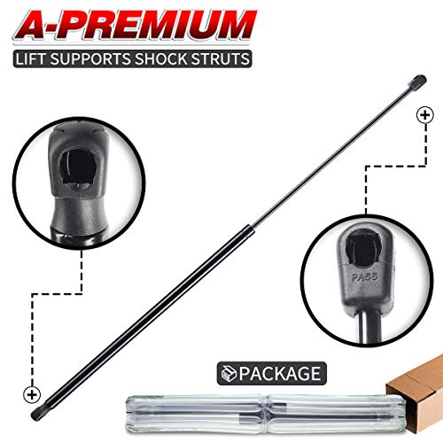 A-Premium Hood Bonnet Lift Supports Shock Struts for Audi A4 A4 Quattro A5 Quattro S4 S5 2009-2015 1-PC