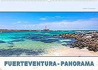 FUERTEVENTURA-PANORAMA (Wandkalender 2022 DIN A2 quer): Endlose Straende, schroffe Berghaenge, Urlaub pur (Monatskalender, 14 Seiten )