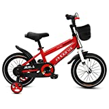 Phoenix KAKU Kids Bike for Boys and Girls, 12 14 16 18 inch with Training Wheels, in Multiple Colors (Red, 14 Inch with Training Wheels)