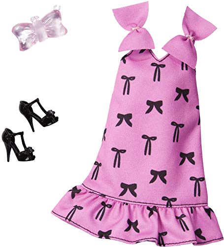 Barbie Conjunto Bow Print Mattel GHW85 | Moda de Muñeca