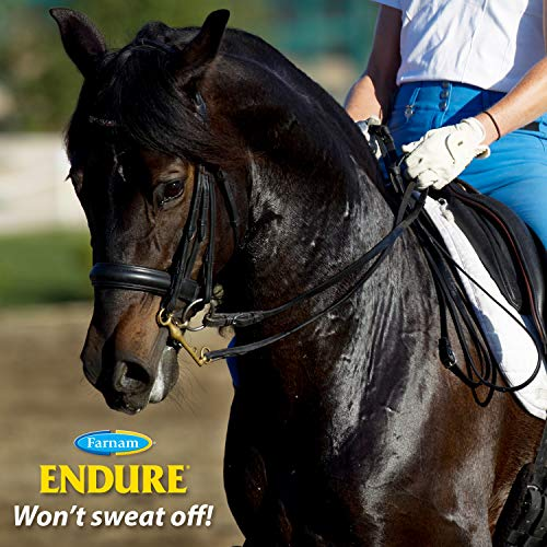 Farnam Endure Sweat-Resistant Fly Spray for Horses 14-day Long Lasting Protection, 32 oz. Pump Spray