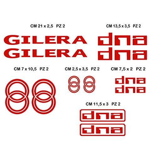 Stickers GILERA DNA - Motorfiets- Cod. 0557