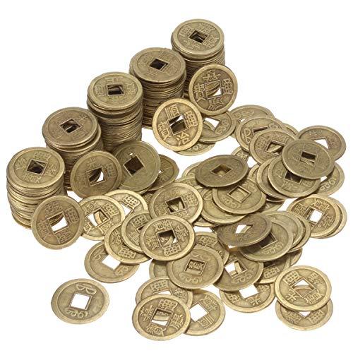 ANCIRS China Feng Shui Monedas 0.9 Pulgadas 200 Piezas