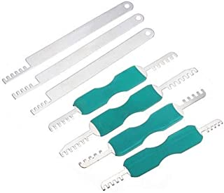 Kam Pick RVS Lock Tool Slotenmaker Tool voor House Lock Picks en Meubelsloten 7 stuks