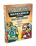 Pegasus Spiele 17017G - Munchkin Warhammer 40.000: Zorn und Zauberei