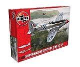 Airfix-1/48 Supermarine Spitfire F. MK.22/24 Model, Color Gris (Hornby Hobbies LTD A06101A)