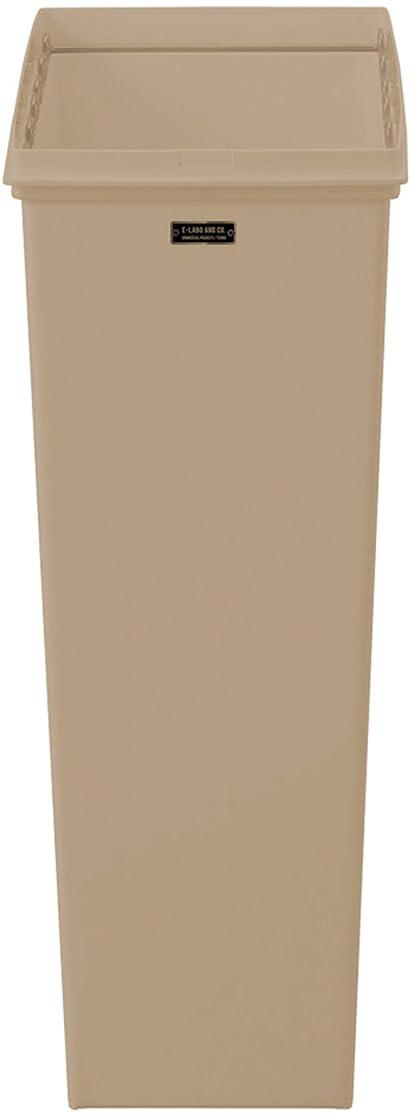 むちゃくちゃハンディ代数的天馬(Tenma) スリムごみ箱 本体 ライトブラウン 45L 幅23×奥行44×高さ60cm イーラボホーム スマートペール