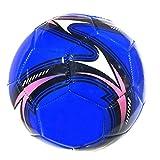 SENFEISM Balón de fútbol suave para entrenamiento de la competencia del equipo del tamaño 5 de la tela del Pvc de la máquina del fútbol del adulto del fútbol