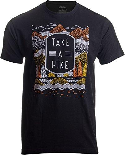 T-shirt pour homme et femme avec inscription « Take a Hike »