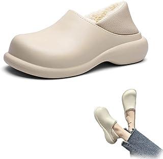 Chaussons en coton super doux, imperméables et antidérapants, chaussures d'hiver à la mode, chaussons d'intérieur et d'ext...