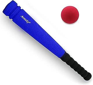 (アワンキー) Aoneky 野球 バット 練習するセット スポンジ おもちゃ トレーニング 贈り物 安全安心 42cm(ブルー、1バット+1ボール)