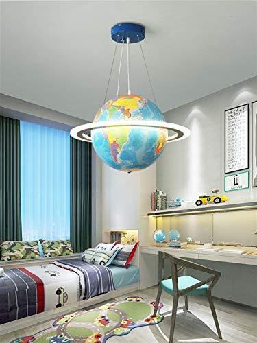 Alasmy Leuchter Moderne LED-Kinderzimmerlampe, Schiff Ruder-Decken-Lampe, Fernbedienung Dimming-Junge und...