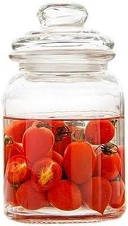 Joint Pot de rangement Bouteille en verre transparent avec couvercle Kit/Accueil Pickle Boîtes miel fruits Tanks Jam Acces...