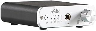 Sabaj D3 ポータブル デジタル ヘッドフォンアンプ DAコンバーター 一体型 オーディオ AMP/DAC USB&光&同軸 入力 32bit/384kHz 銀
