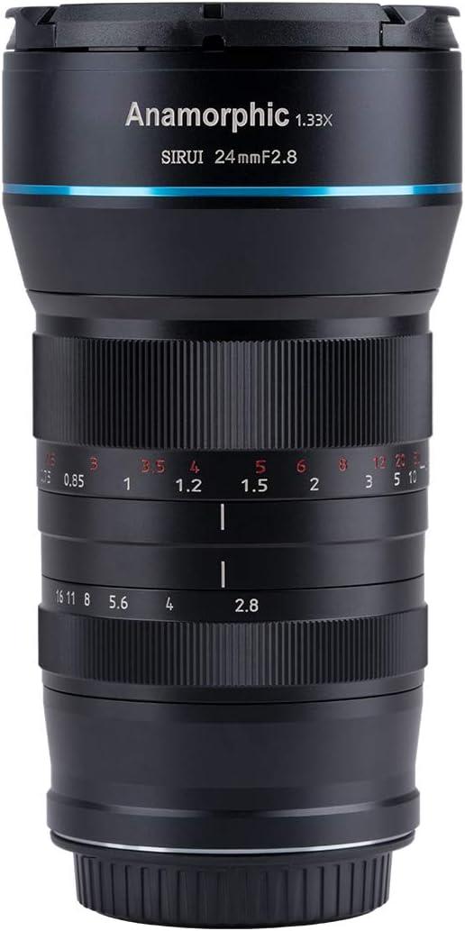 11 opiniones para SIRUI Lente anamórfica F2.8 de 24mm, 1,33x (Montura Z)