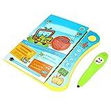 Hztyyier Libro de Aprendizaje de inglés electrónico, Libro de Aprendizaje de inglés electrónico de niños con Smart Logic Pen Children Juguete Interactivo Educativo