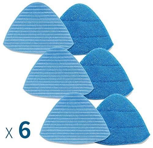 Neatec Dampfmopp Mikrofasertuch 6 teilig für EUM33B,EUM33C,EUM18B,EUM18C,EUM18G,EUM18P