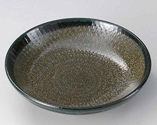 Green Belt 21.5cm Teigwaren-Schüssel Grey porcelain Japanisch traditionell
