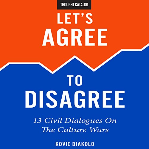 Let's Agree to Disagree audiobook cover art