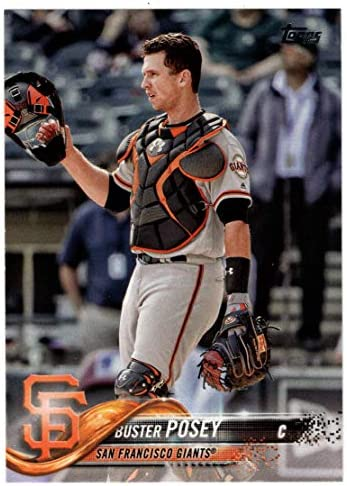 Buster Posey Baseball Card 2018 Topps 250 Mint product image