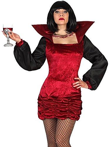 Atosa 22247 Disfraz vampiresa adulto XS-S, talla mujer