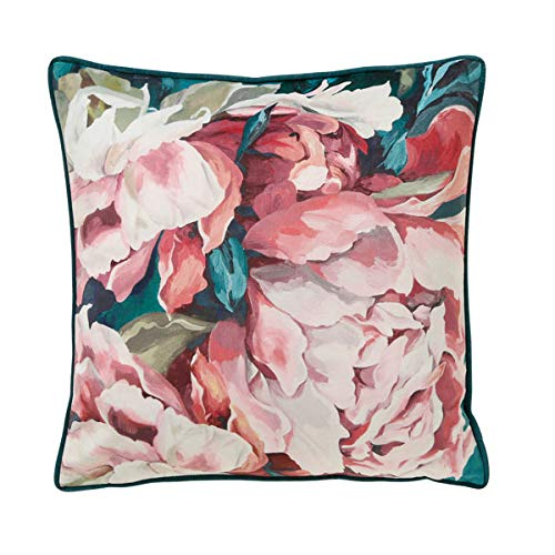 Scatterbox Cushion, Teal/Blush, W45cm x L45cm (18')