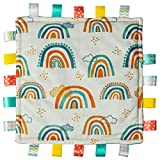 Taggies Original Blanket, 12 x 12-Inches, Rainbow