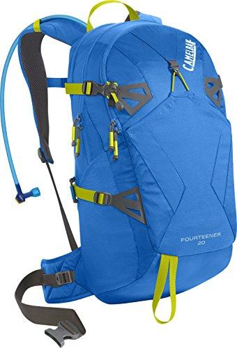 CamelBak Fourteener 20 Hydration Pack, Tahoe Blue/Lime Punch